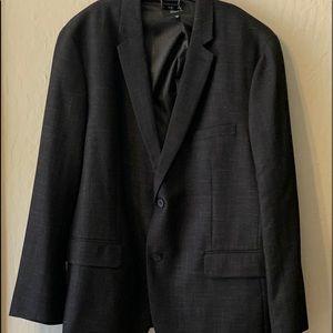 Men's black sports coat